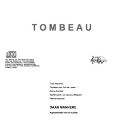 Tombeau cd-cover